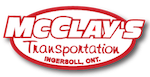 Mcclays Transportation | Oxford Enterprises | Freight Transport & Trucking Ontario Logo